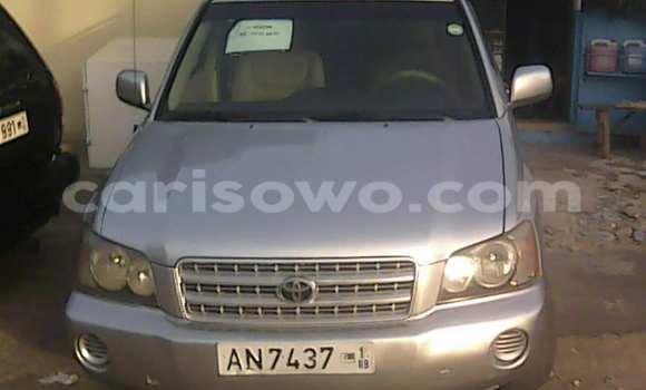 Acheter Occasions Voiture Toyota Highlander Gris à Cotonou, Benin