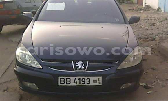 Acheter Occasion Voiture Peugeot 607 Bleu à Savalou au Benin