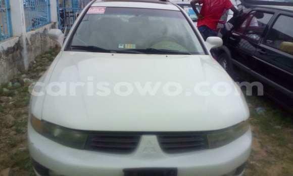 Acheter Occasion Voiture Mitsubishi Galant Blanc à Porto Novo au Benin