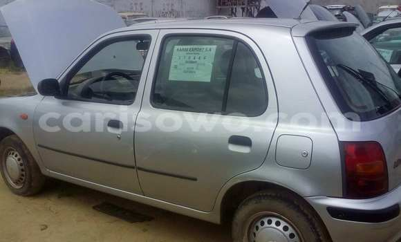 Acheter Occasion Voiture Nissan Micra Gris à Porto Novo, Benin