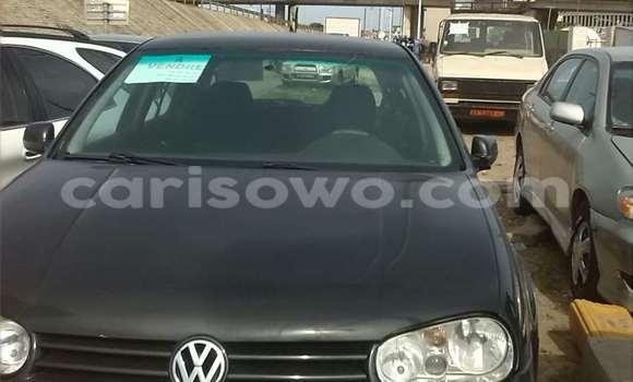 Acheter Occasion Voiture Volkswagen Golf Noir à Abomey Calavi au Benin