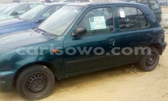Acheter Occasion Voiture Nissan Micra Vert à Porto Novo au Benin