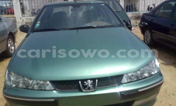 Acheter Occasion Voiture Peugeot 406 Vert à Savalou, Benin