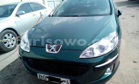 Acheter Occasion Voiture Peugeot 407 Vert à Savalou au Benin
