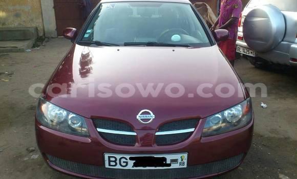 Acheter Occasion Voiture Nissan Almera Rouge à Savalou au Benin