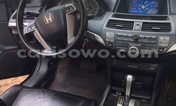 Acheter Occasion Voiture Honda Accord Noir à Savalou au Benin
