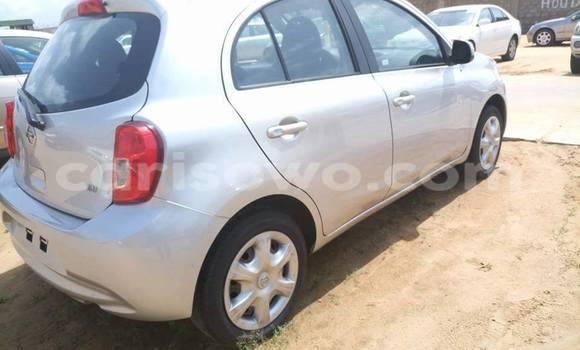 Acheter Occasion Voiture Nissan Micra Gris à Savalou au Benin