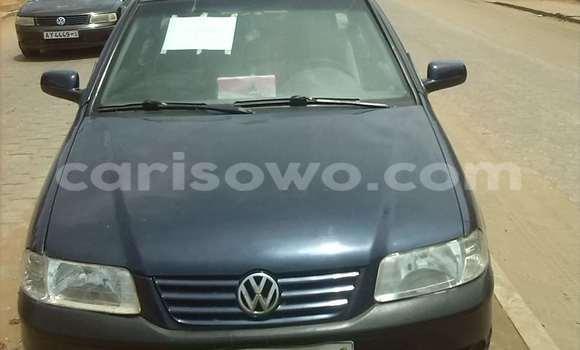 Acheter Occasion Voiture Volkswagen Passat Bleu à Abomey Calavi au Benin