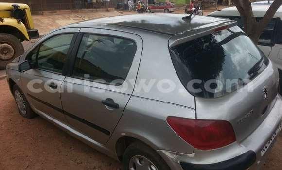 Acheter Occasion Voiture Peugeot 307 Gris à Parakou au Benin