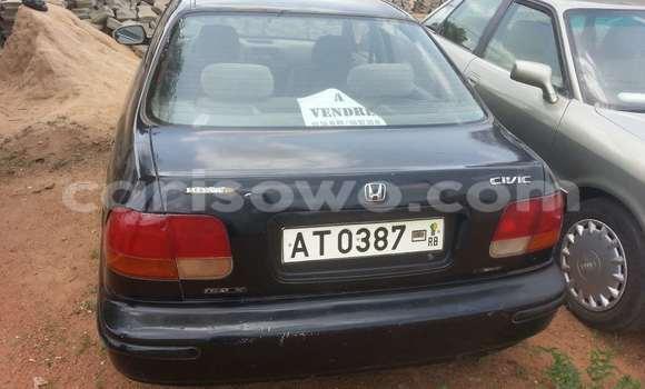 Acheter Occasion Voiture Honda Civic Bleu à Parakou au Benin