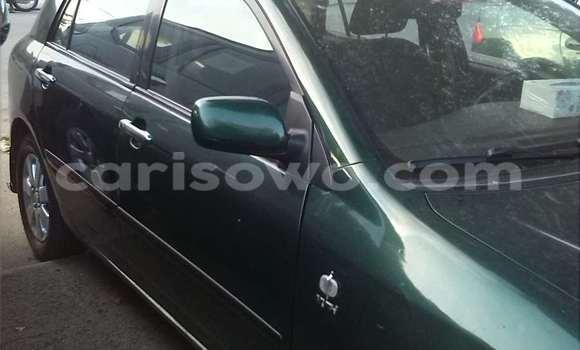 Acheter Occasions Voiture Toyota Corolla Vert à Cotonou au Benin