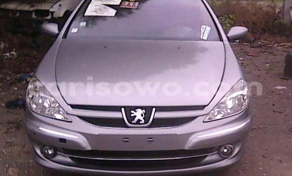 Acheter Occasion Voiture Peugeot 607 Gris à Porto Novo, Benin