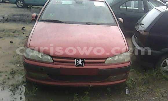 Acheter Occasion Voiture Peugeot 406 Rouge à Porto Novo, Benin