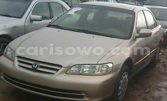 Acheter Occasion Voiture Honda Accord Marron à Porto Novo au Benin