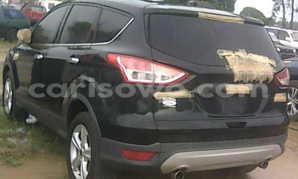 Acheter Occasion Voiture Ford Edge Noir à Porto Novo au Benin