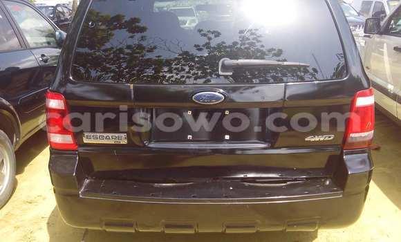 Acheter Occasion Voiture Ford Escape Noir à Porto Novo au Benin
