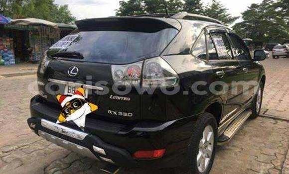 Acheter Occasion Voiture Lexus RX 330 Noir à Savalou au Benin
