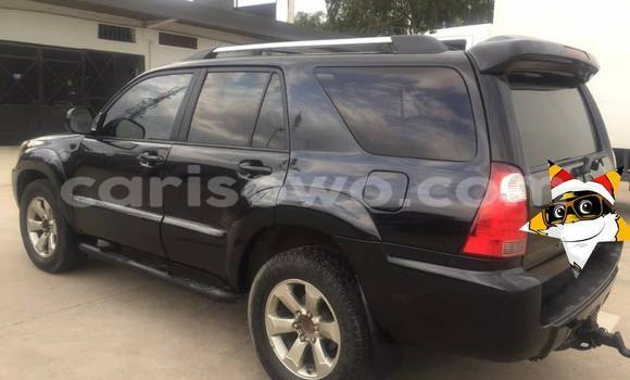 Acheter Occasion Voiture Toyota 4Runner Noir à Savalou au Benin