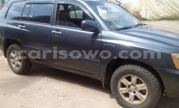 Acheter Occasion Voiture Toyota Highlander Autre à Savalou au Benin