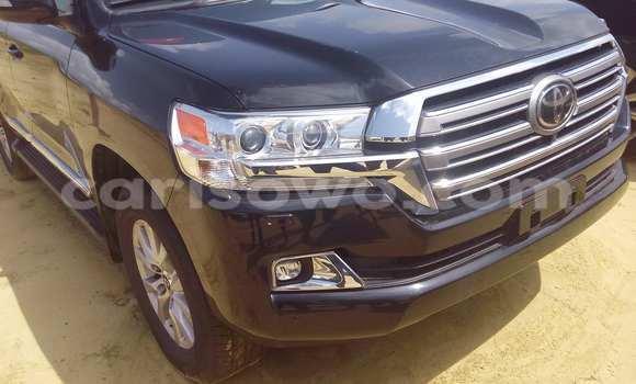 Acheter Occasion Voiture Toyota Land Cruiser Noir à Porto Novo au Benin
