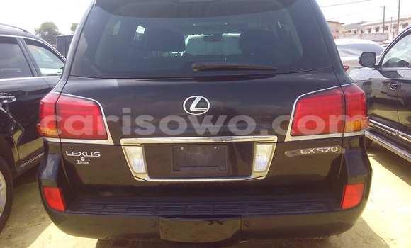 Acheter Occasion Voiture Lexus LX 450 Noir à Porto Novo au Benin