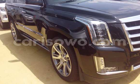 Acheter Occasion Voiture Cadillac Escalade Noir à Porto Novo au Benin