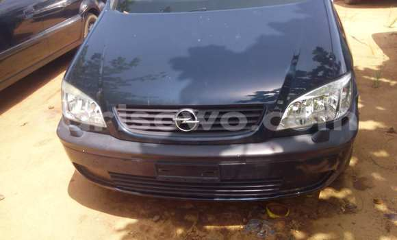 Acheter Occasion Voiture Opel Zafira Noir à Porto Novo au Benin