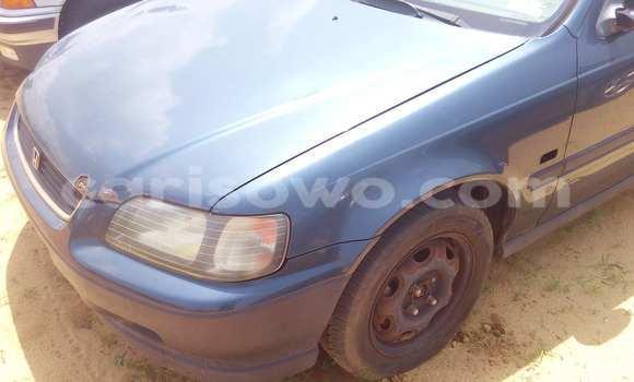 Acheter Occasion Voiture Honda Civic Bleu à Porto Novo, Benin
