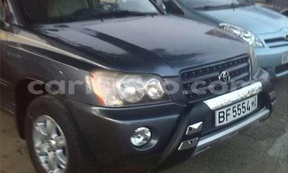 Acheter Occasion Voiture Toyota Highlander Noir à Cotonou au Benin