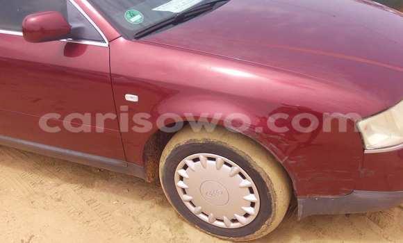 Acheter Occasion Voiture Audi A6 Rouge à Porto Novo au Benin