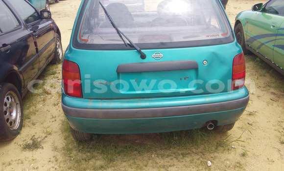Acheter Occasion Voiture Nissan Micra Vert à Porto Novo, Benin