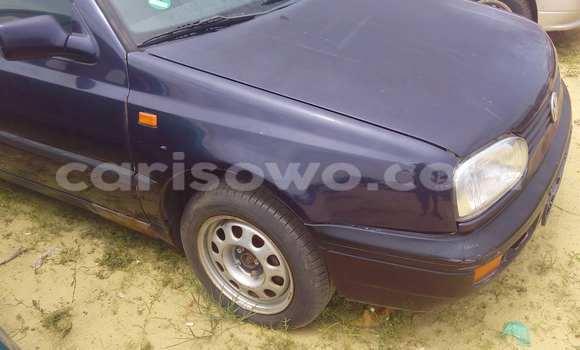Acheter Occasion Voiture Volkswagen Golf Bleu à Porto Novo au Benin