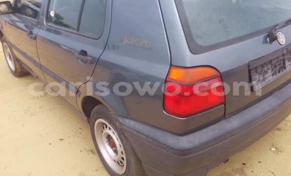 Acheter Occasion Voiture Volkswagen Golf Noir à Porto Novo au Benin