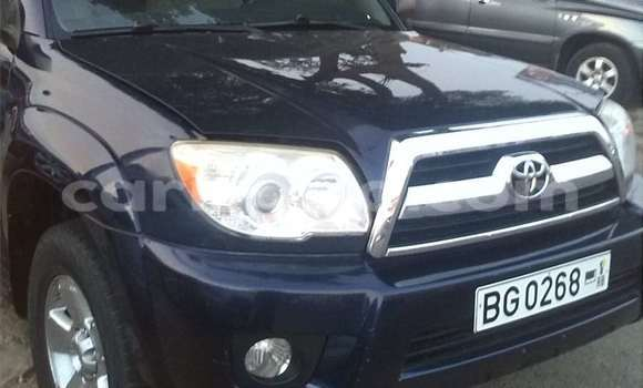 Acheter Occasion Voiture Toyota 4Runner Bleu à Cotonou au Benin