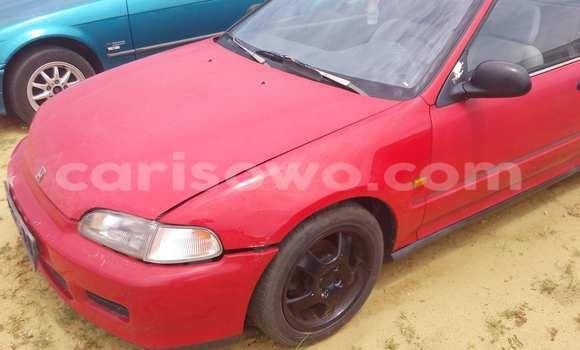 Acheter Occasion Voiture Honda Civic Rouge à Porto Novo au Benin