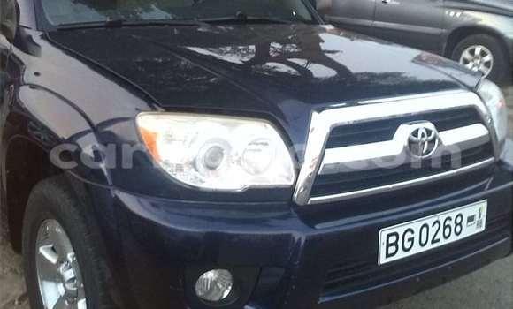 Acheter Occasions Voiture Toyota 4Runner Bleu à Cotonou au Benin