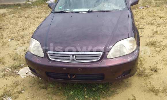 Acheter Occasion Voiture Honda Civic Noir à Porto Novo au Benin