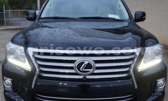 Acheter Occasion Voiture Lexus LX Noir à Cotonou au Benin